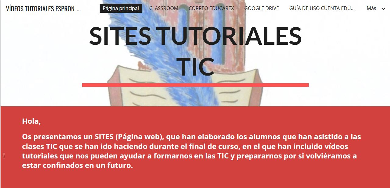 Logo Sites Tutoriales TIC